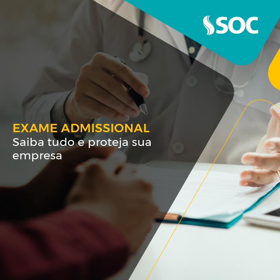 Exame admissional: saiba tudo e proteja sua empresa