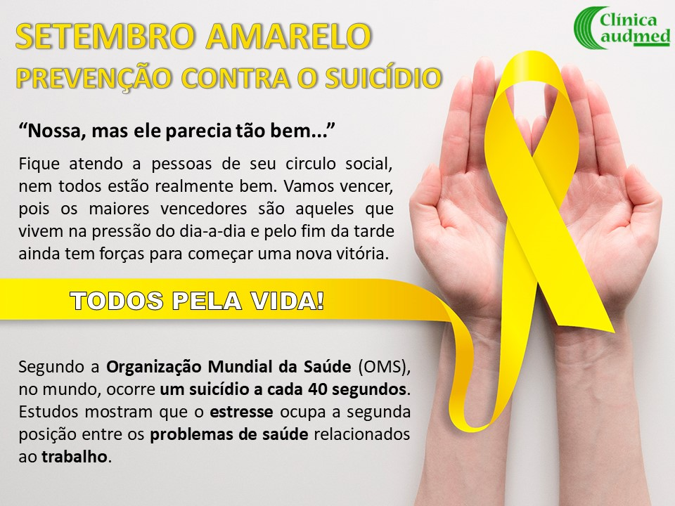 Setembro Amarelo -  Prevenção Contra o Suicídio