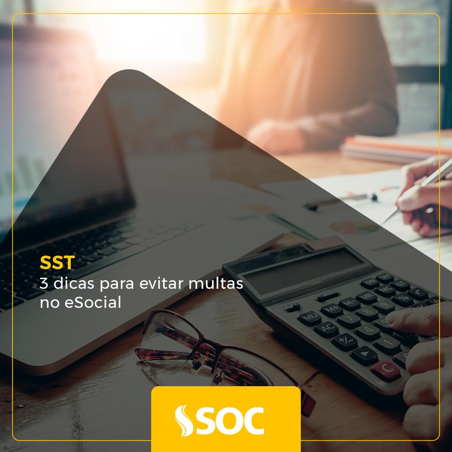 SST: dicas para evitar multas no eSocial