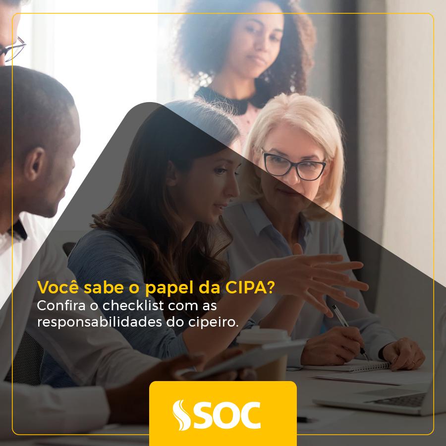 Você sabe o papel da CIPA? Confira o checklist com as responsabilidades do cipeiro